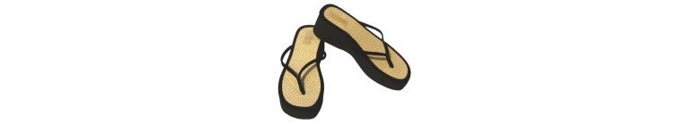Tatami Thong Sandals / Black